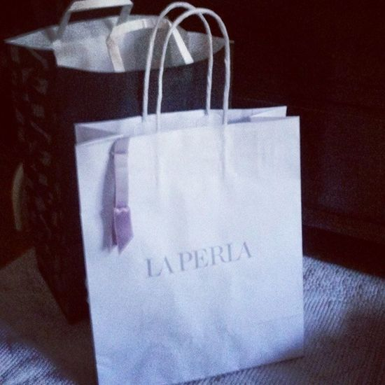 If you know what I mean....... Laperla