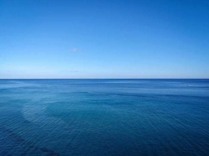 Canarias Canary Islands Drone  Fuerteventura Beauty In Nature Blue Canary Clear Sky Copy Space Day Horizon Horizon Over Water Idyllic Nature No People Outdoors Scenics - Nature Sea Sea And Sky Seascape Sky Tranquil Scene Tranquility Urban Skyline Water