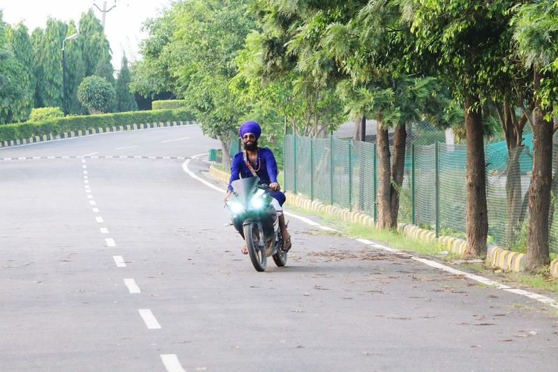 Bike R15 Yamaha Love Nihangsingh