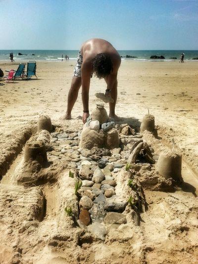 El constructor de sueños Castillo De Arena Summertime EyeEm Best Shots Beach Life