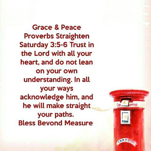 Grace & Peace Straighten Saturday