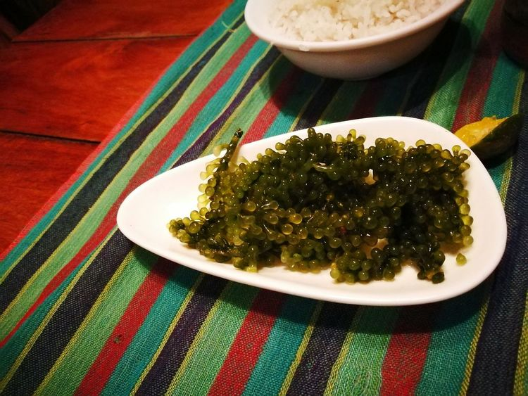sea weeds if you are on diet Dietfood Seaweed Filipinofood Elnidopalawan Salad Vegetable Vegetables & Fruits