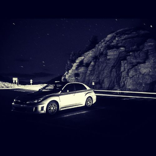 Lost in the dark we surrender our minds and forget who we are... Stars Subaru Impreza Wrx 2013 Longexposure Windypointe 2AMclub