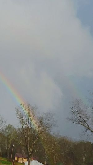 Rainbow Double Rainbow End Of The Rainbow Christmas In Mississippi Once In A Lifetime Cloud Photography Nature Photography
