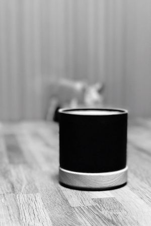 Coffee break. Close-up Indoors  Focus On Foreground Table No People Day Espresso Coffee Break Coffee Night Blackandwhite Wood Modern Porcelain  Tokyo Autumn