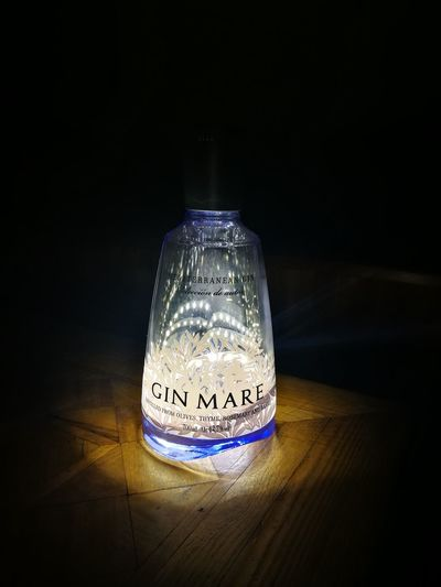 GIN Gin Mare Luci Luci E Bottiglie LED Huaweiphotography Home Made