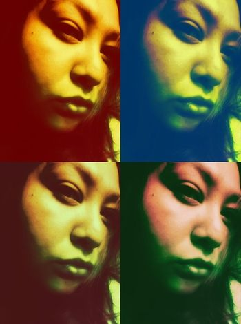 Attitude X4....at least on this pic! >_< Multiple Me Tuesday_selfportrait_nonchallenge