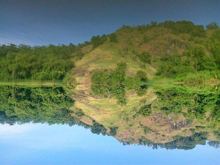 mirror Landscape Kamerahpgw Lenovo Lake Snapseed Gueliburan Potretjateng Jatengmotret Panorama Solo Jateng Keselekhestek