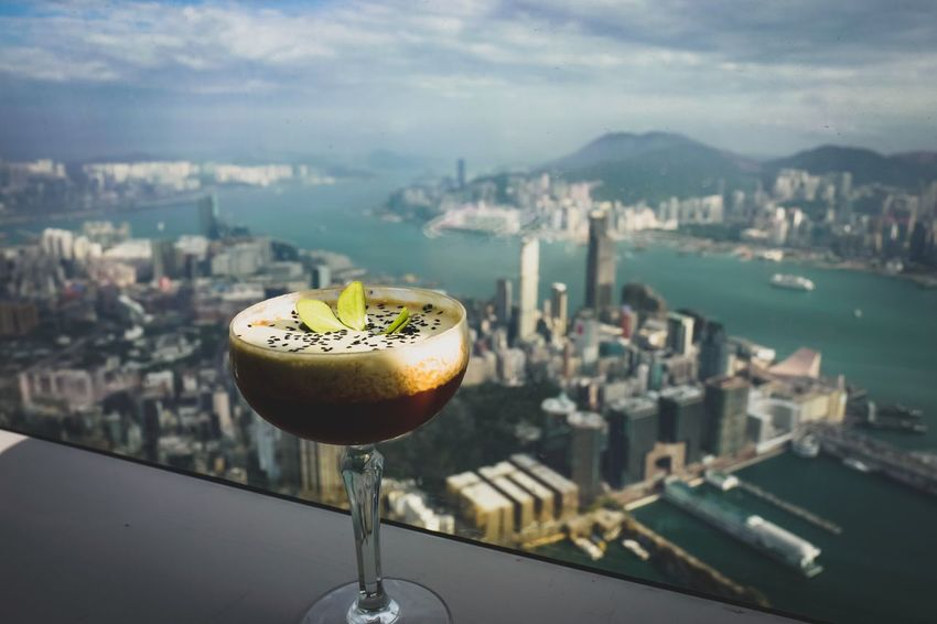 cocktail on the sky Discoverhongkong Leicaq Skyscapes Landscapes Life In Motion Taking Photos EyeEm Gallery EyeEm Masterclass EyeEmNewHere From My Point Of View Fine Art Photography Colors Walking Around Cityscapes Hello World Travelling Photography
