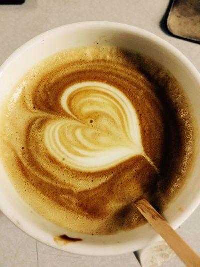 Yummmmm  Coffee And Cigarettes Firsteyeemphoto Espresso Drinking A Latte First Eyem Photo Cappuccino ♥ Yummmmmy