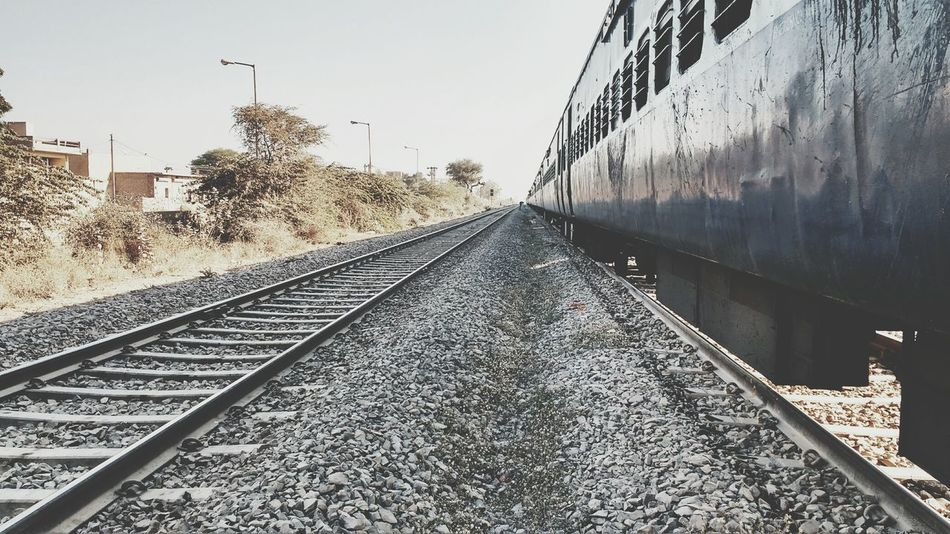 leading lines Travel Train Leading Lines Railroad Track Rail Transportation Transportation Day No People Sky Outdoors