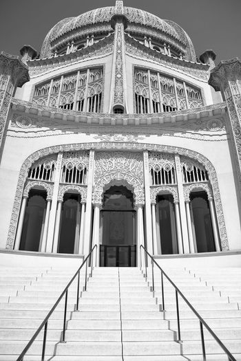 Arch Architectural Column Architectural Feature Architecture Black & White Black And White Bradley Olson Bradleywarren Photography Built Structure Capital Cities  Day Façade Historic History Looking Up Low Angle View No People Ornate Outdoors Sky Stairs Temple Tourism Travel Destinations Worship