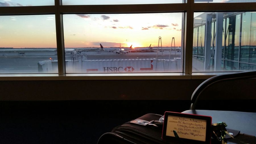 In JFK waiting for my flight to London! JFKAirport Study Abroad London
