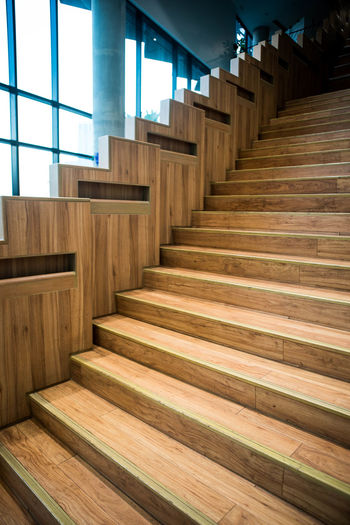 Staircase of building