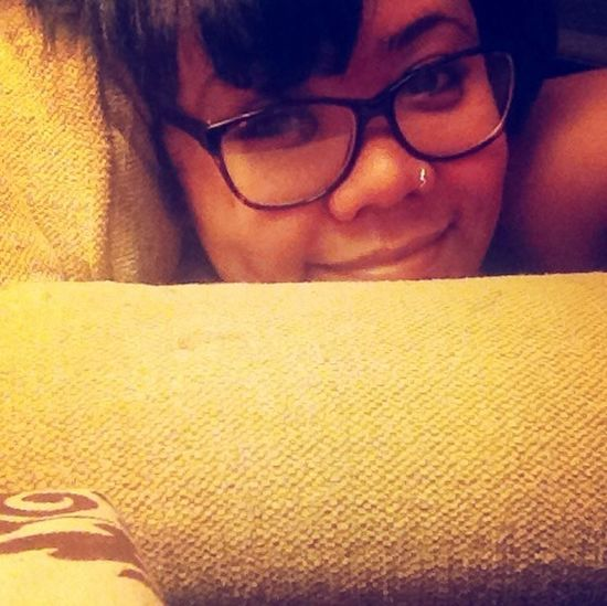 Glasses Nerd Dimples  Big Comfy Couch