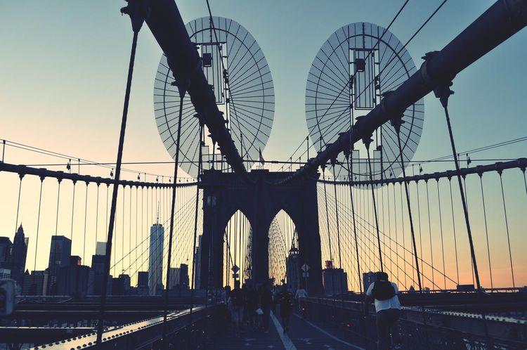 The OO Mission Broklyn Bridge NYC 💙🌎📸