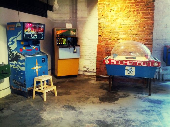 Sovjet arcade machines from the 70s onwards