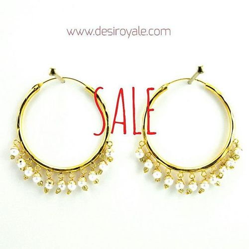 Check out our Beautiful Goldplated Earrings at www.desiroyale.com Freeshipping Sale Desi Desiroyale Wedding Picoftheday Photooftheday Indianbride Gorgeous Lovely Accessories Jewelry MustHave Trend Stylist Buy Diwali Gift Online  Shopping Jhumka Burningman desiweddings anarkali sangeet jago bride