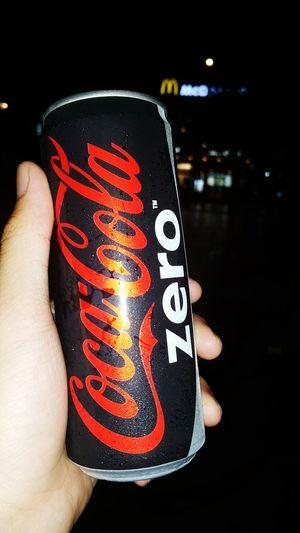 Cocacola Zero City Street Night McDonald's