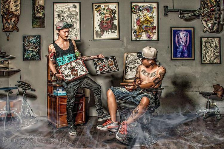 Asian Tattoo Shop Inked INKEDGIRL Inkedup Ink Addict  Photooftheday Photography Portrait Photography Uniqe EyeEm Selects