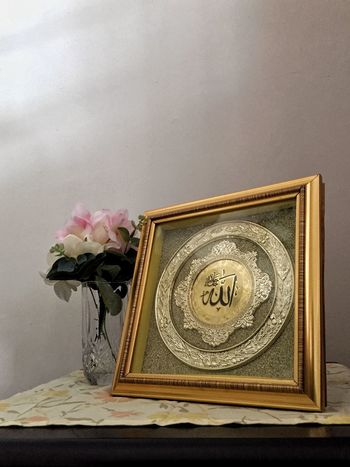 Islamic Frame Islamic Flower Indoors  Vase No People Rose - Flower Book Close-up Flower Head Fragility Day