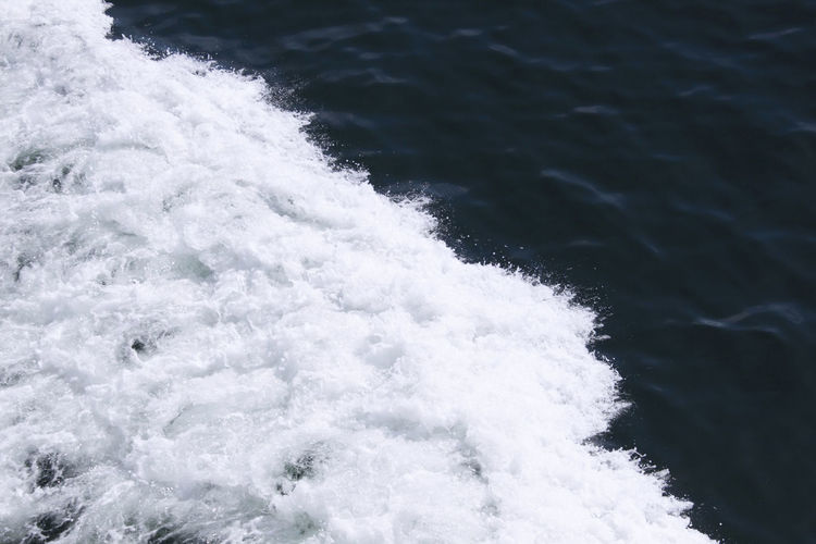Ostsee Sea Water Motion Wave Sport Beauty In Nature No People Aquatic Sport Nature Day White Color Scenics - Nature Blurred Motion Outdoors Waterfront Speed Power In Nature Splashing Flowing Water Breaking Wasser Abstrakt Abstract