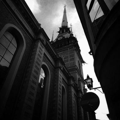 Blackandwhite Church Tower