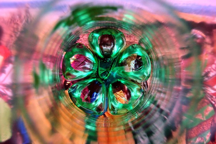 Circle Close-up Extreme Close-up Fine Art Fine Art Photography Full Frame Green Multi Colored Selective Focus Vibrant Color