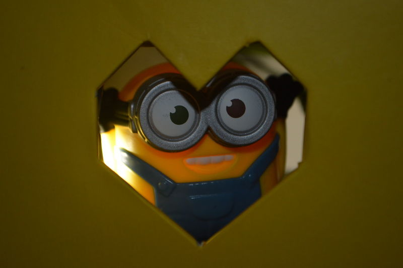 Backgrounds Black Color Close-up Detail Minion  Minion Love Minions Minions ™ Minions ♥♥ Minionsworld Multi Colored No People Selective Focus Still Life Yellow Home Is Where The Art Is Colour Of Life The Magic Mission