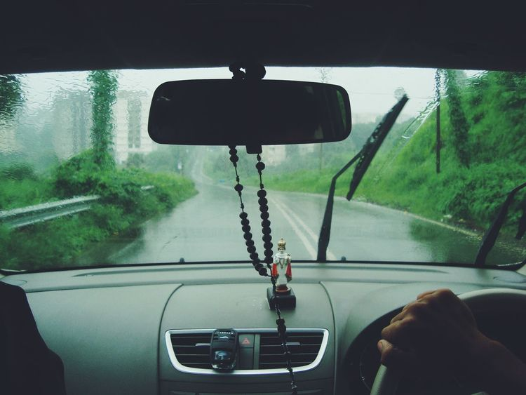 Transportation Vehicle Interior Car Windshield Travel Car Interior Mode Of Transport Land Vehicle Journey Close-up No People Horizontal Day Digital Viewfinder Person