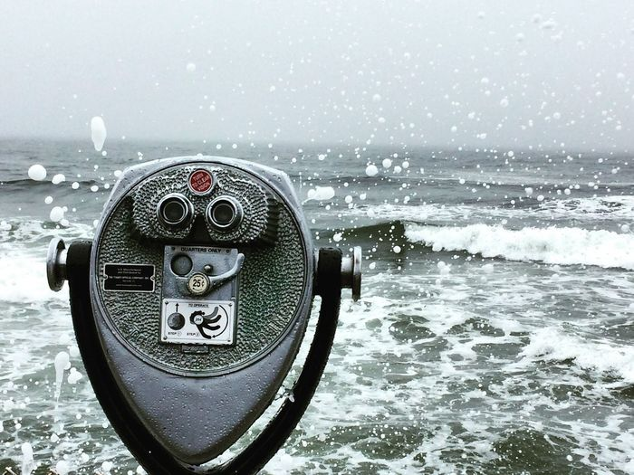 Coin Operated Coin-operated Binoculars Sea Binoculars Water Surveillance No People