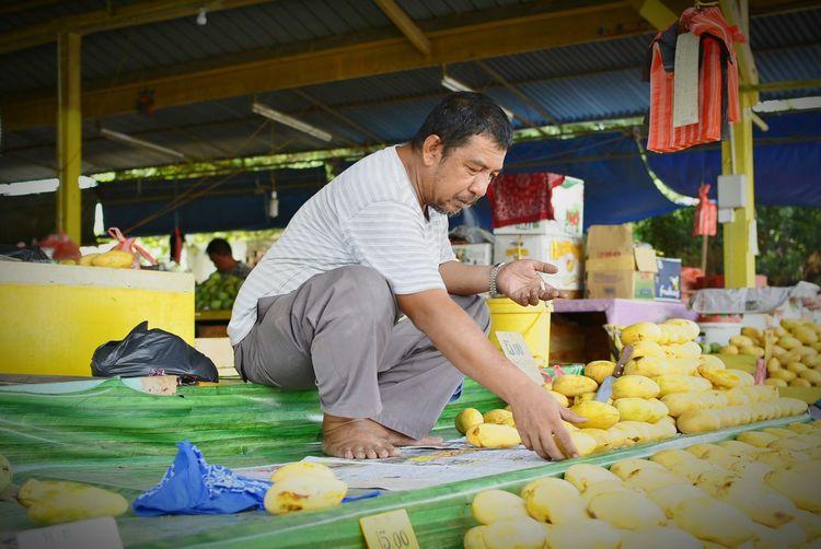 The mango seller.... EEA3 - Kota Kinabalu