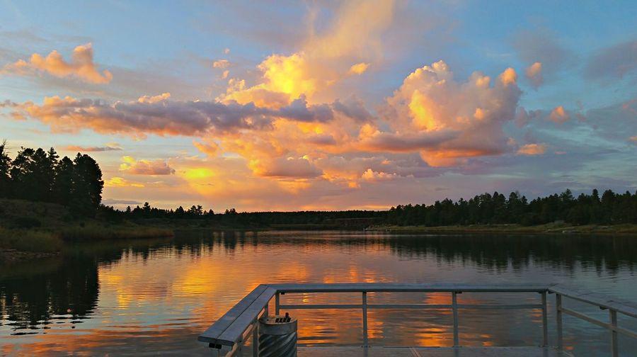 Monsoon Sunset from the dock Sunset #sun #clouds #skylovers #sky #nature #beautifulinnature #naturalbeauty #photography #landscape
