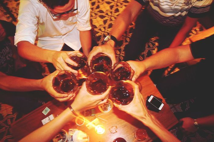 THESE Are My Friends Fun Drinkup 43 Golden Moments Friendship Bottoms Up Q : quality time