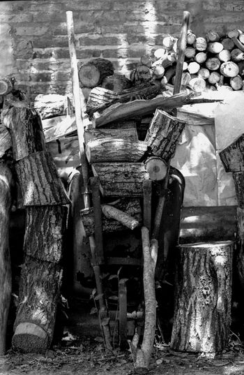 https://www.facebook.com/germanlopezfoto/ Abundance Close-up Day Film Large Group Of Objects Nature No People Old Outdoors Tmax Wood Wood - Material Wooden