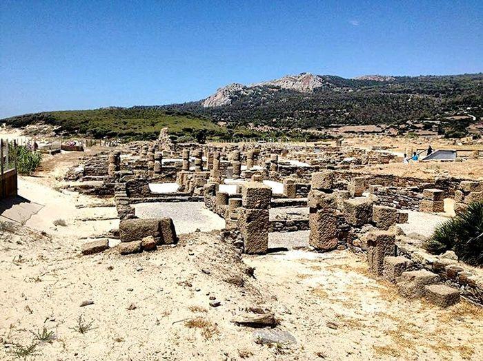 Ruinasromanas Cádiz, playa Bolonia