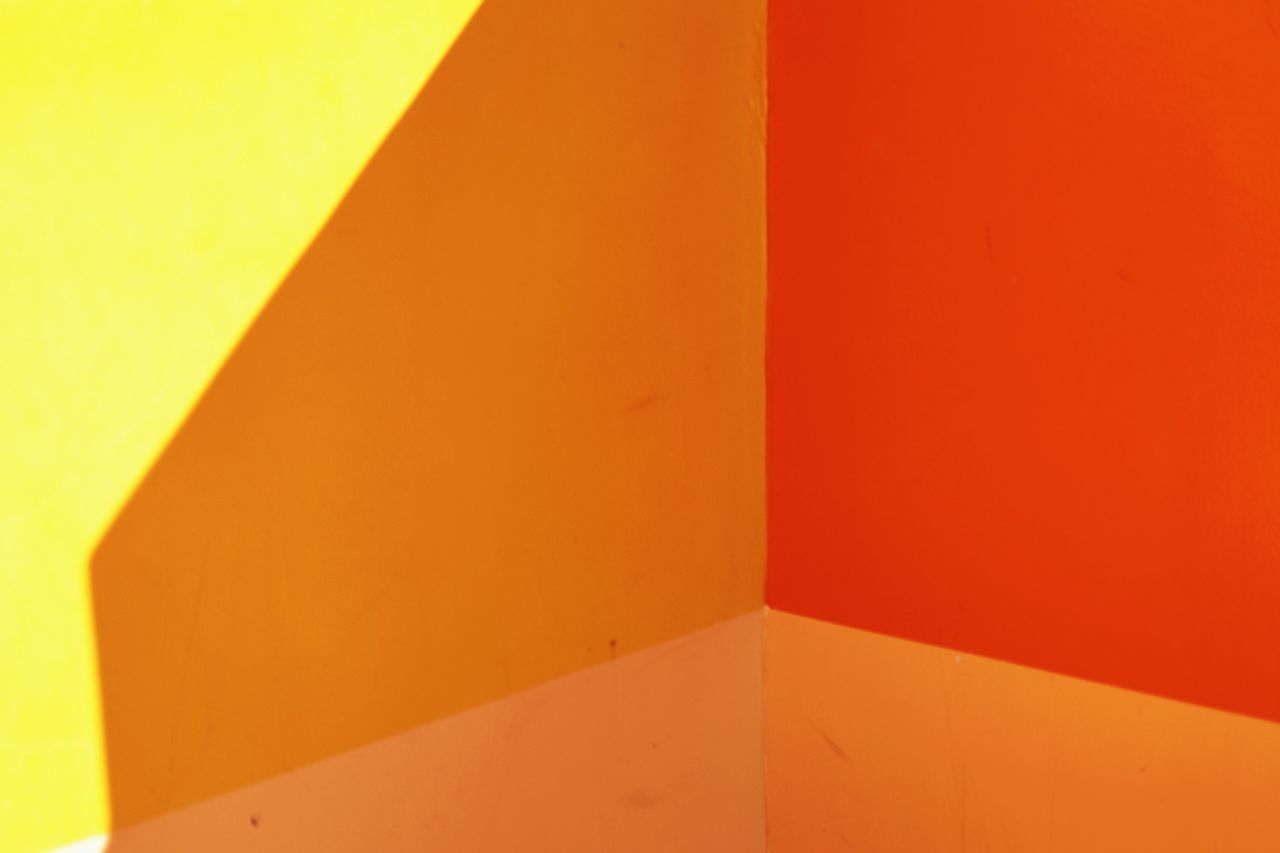 Close-up of multi colored walls