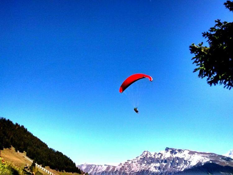Blue Sky Skyporn Paragliding Bernese Oberland