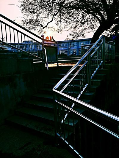 码头 EyeEmNewHere Railing Staircase Steps And Staircases Steps Built Structure Bridge - Man Made Structure Architecture
