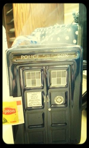 Don't worry I'm the Doctor Tea Time