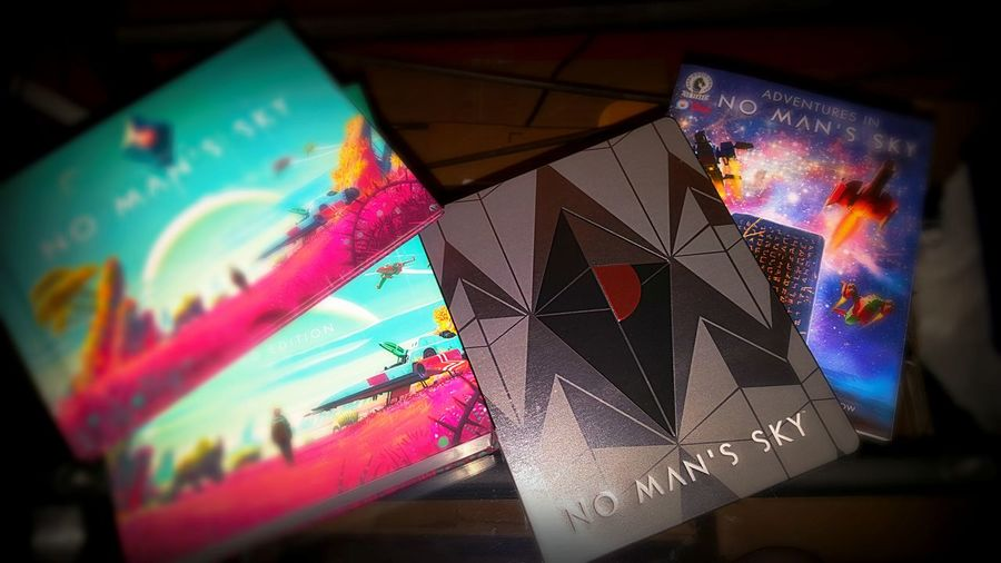 Colorful Infinite Worlds Limited Edition No Man's Sky Perfectly Bundle Very Addicting