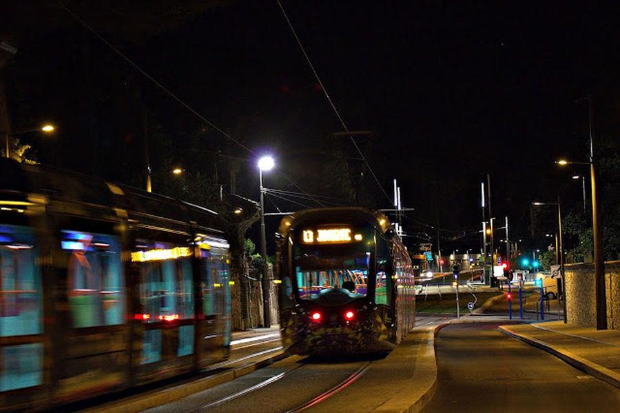 tramway by night Nightphotography