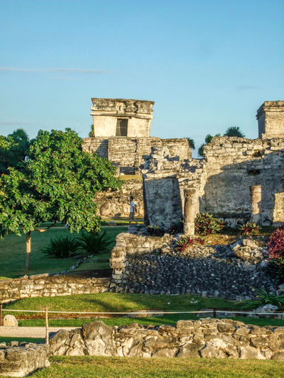 Ancient Ancient Civilization Archaeological Sites Architecture Descending God Famous Place History Mayan Mayan Ruins Mexico Old Ruin Temple The Past Tourism Travel Destinations Tulum Tulum Ruins Yucatan Mexico Yucatan Peninsula Yúcatan
