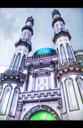 masjid Masjid Travel Destinations Indiapictures Low Angle View Architecture Built Structure History No People Building Exterior Day Religion Spirituality Outdoors Place Of Worship Sky