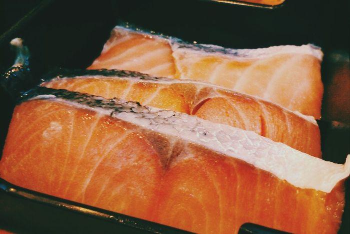 อยากกินปลาเดียบบบบ Sashimi  Salmon My Food BBQ Time