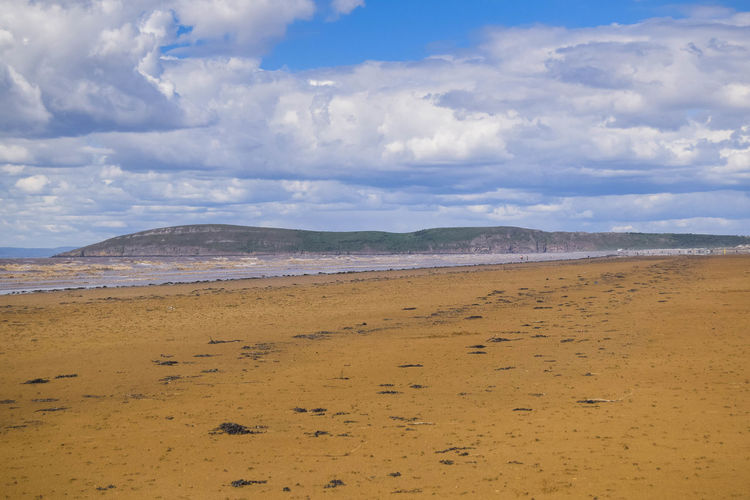 Nature Sky Land Scenics - Nature Tranquil Scene Beach Beauty In Nature Tranquility Day Sand Space For Text Space For Copy Cloud - Sky Environment Water Sea No People Non-urban Scene Landscape Remote Climate Arid Climate Horizon Over Water