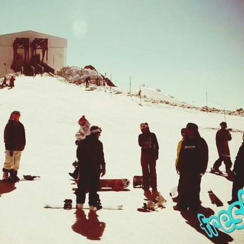 Lesdeuxalpes Freshcamps My Passion Snowboard #Snowboarding #me Good day in Les deux Alpes