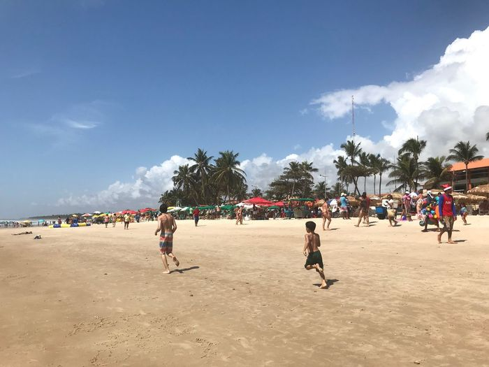 Summer at Alagoas Sky Beach Summer Exploratorium Real People Sunlight Holiday
