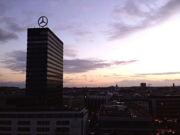 Urban Landscape ❤️west Berlin Sunset And Clouds  Clouds And Sky