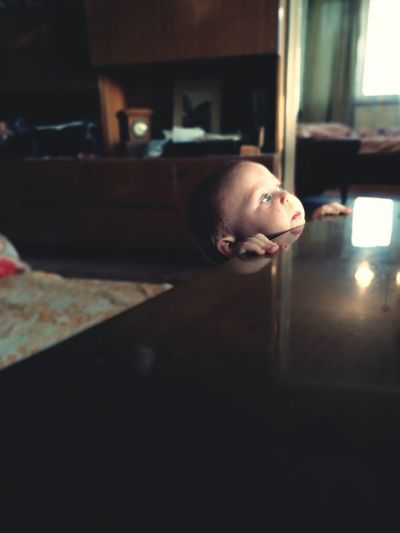 First Eyeem Photo Above Child Couriousity